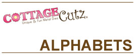 CottageCutz Alphabets