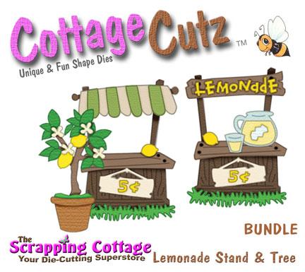 Cottagecutz lemonade stand lemon tree bundle 4 x4 and for Lemon shaped lemonade stand